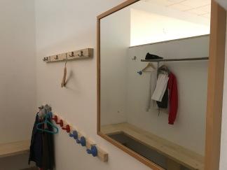 Umkleide/ Garderobe